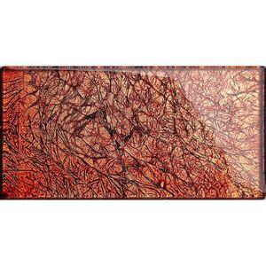CARRELAGE - PAREMENT Carrelage en verre. Automne couleurs rouge, orange