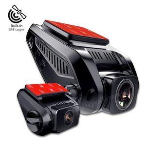 BOITE NOIRE VIDÉO Dual Lens Dash Cam Full HD 1080p Voiture DVR Camér