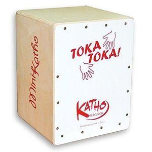 CAJON Katho Percusión KT31-BL Cajon Mini pour Enfant Bla