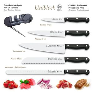 Couteaux de cuisine qualite professionnelle achat vente pas cher - Ensemble couteaux de cuisine ...