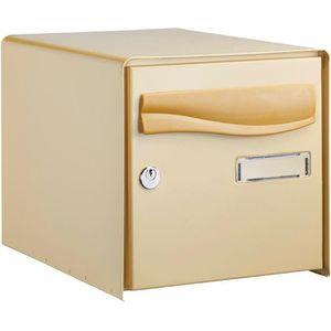 boite aux lettres fonte achat vente boite aux lettres fonte pas cher soldes d s le 10. Black Bedroom Furniture Sets. Home Design Ideas