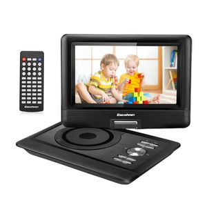 LECTEUR DVD PORTABLE Excelvan Lecteur DVD Portable De 10,5 Pouces Avec