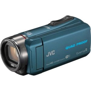 CAMÉSCOPE NUMÉRIQUE Camescope JVC GZ-RX645 Wifi Bleu