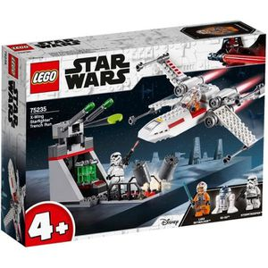 ASSEMBLAGE CONSTRUCTION LEGO® 4+ Star Wars™ 75235 Chasseur stellaire X-Win
