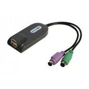 ADAPTATEUR AUDIO-VIDÉO  Minicom adapt.ps2 pour clavier/souris usb