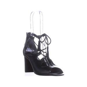 4e4de00bd70d BOTTE Lauren par Ralph Lauren Hasel cuir Chaussures ouve