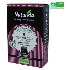 CAFÉ - CHICORÉE 10 capsules Naturella Biospresso Compatibles Nespr