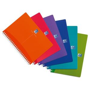 CAHIER Cahier à spirales My Colours - Format A5 (90 g-m2)