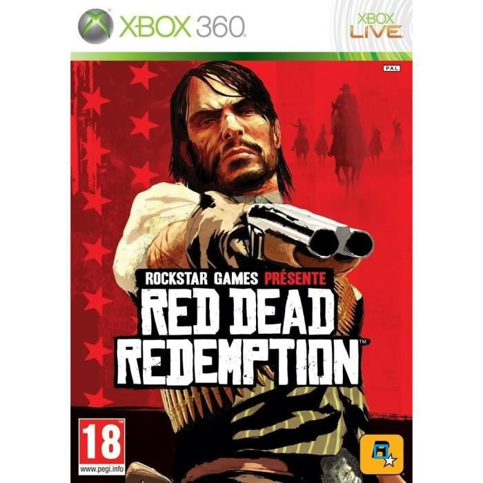 JEUX XBOX 360 Red Dead Redemption XBOX 360