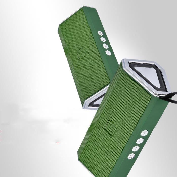 Haut-parleur Portable Bluetooth Sans Fil Usb Carte Tf Mp3 Musique Starhope500