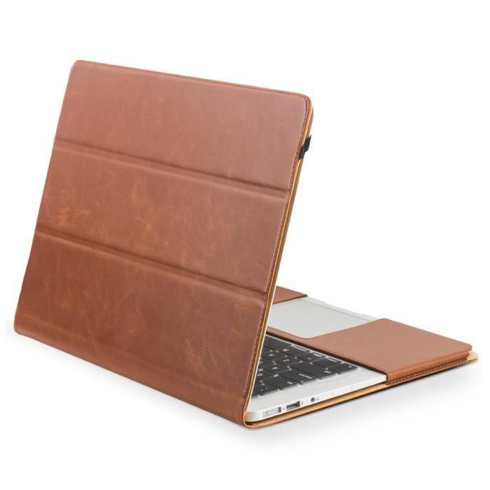 nouvelle arrivee 0238b 8729c Etui cuir véritable pour Macbook Air 11-inch - Prix pas cher ...