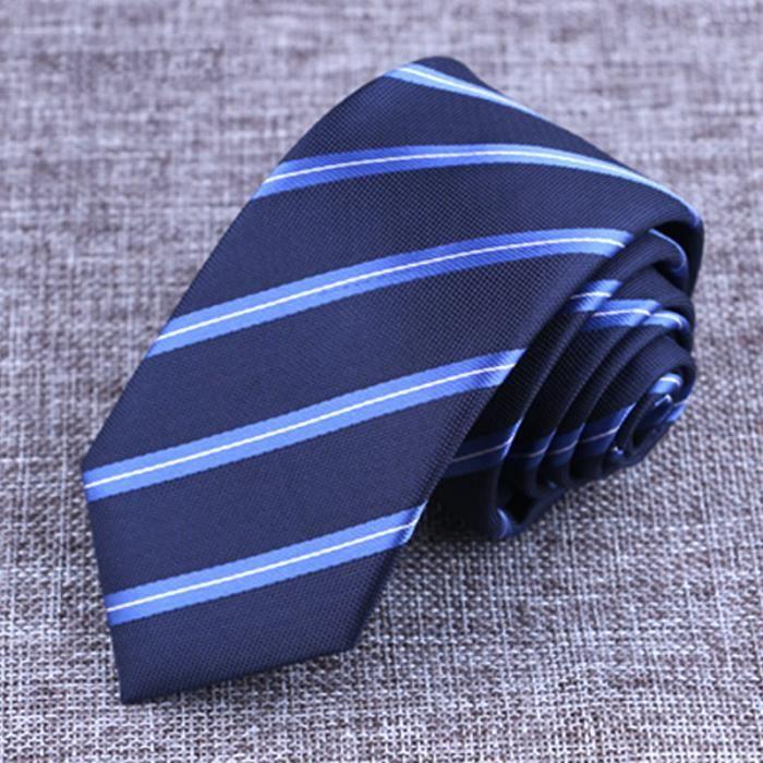 f4b54f9e641cb 6 cm de rayures cravate en soie formelles entreprises dot jacquard, mariage  cravates, nouveaux accessoires classic neckwear homme.