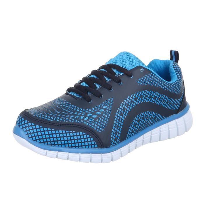 Chaussures femmes sneakers sneakers Basket bleu UYw2MPuV