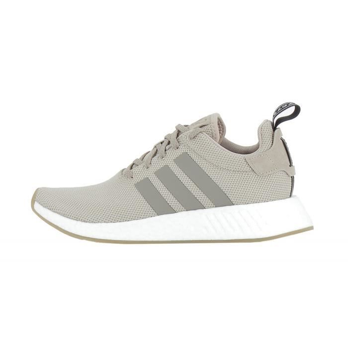 1cd2902a3258 Basket adidas Originals NMD R2 - BY9916 Beige Beige - Achat   Vente ...