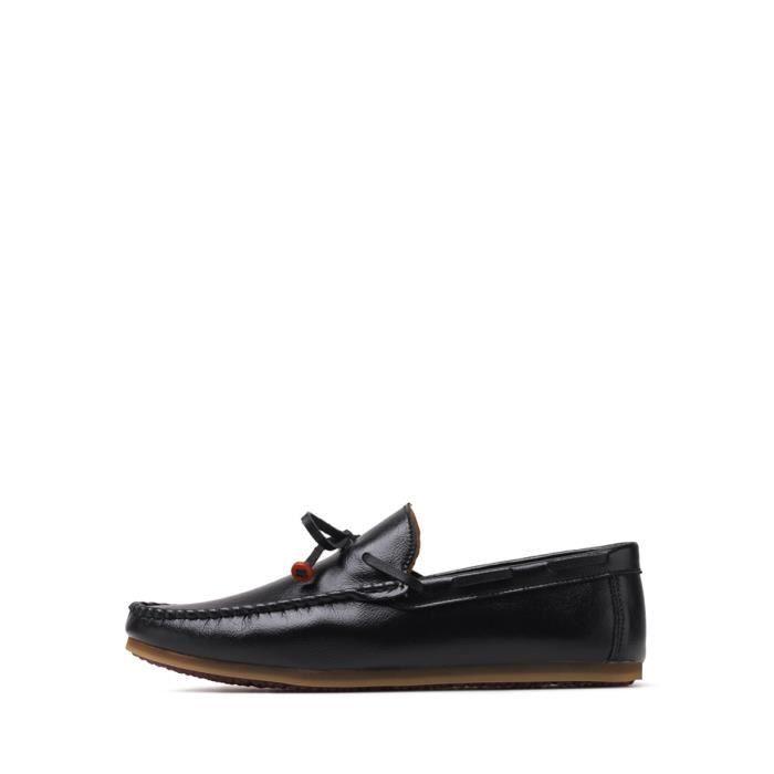 Lumière des hommes Mocassins doux Mode Poids Comfy Semelle en caoutchouc Tous Chaussures match 8558492