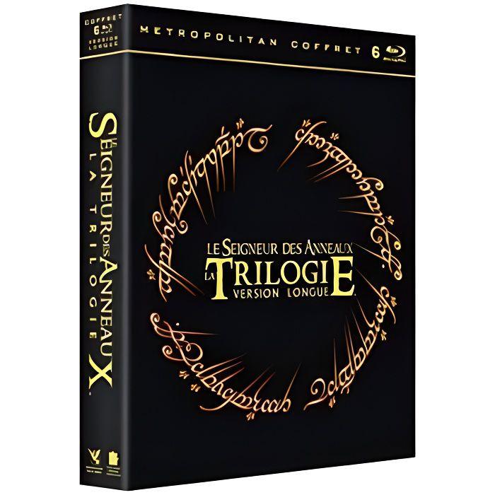 plus tard prix le plus bas 2019 original Coffret trilogie le seigneur des anneaux version longue, 3 films [Blu-ray]