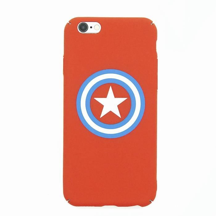 coque iphone 5 captain america rouge
