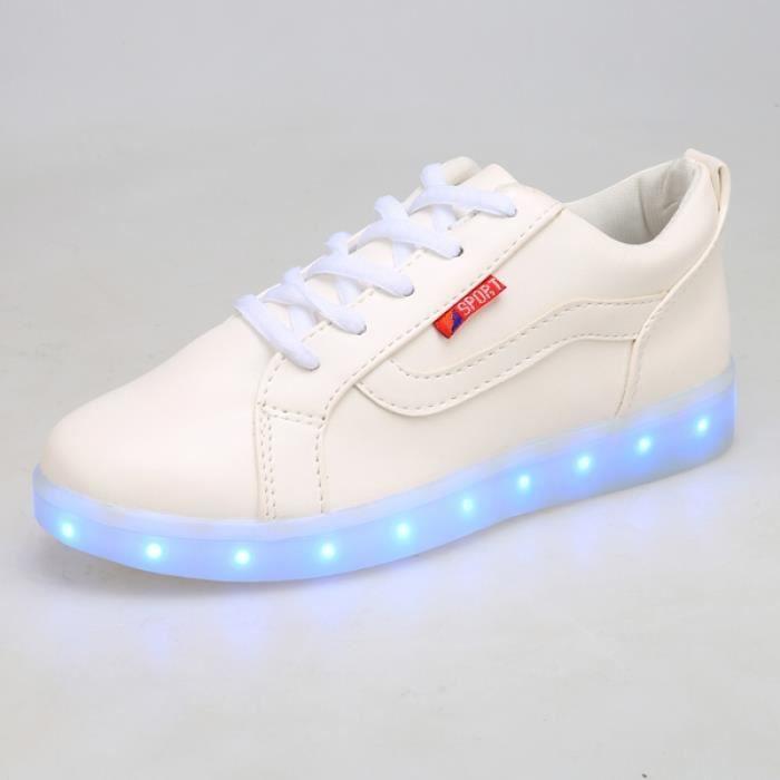 chaussures LED sport Lumière Saskets 42# 3o8tV7sB