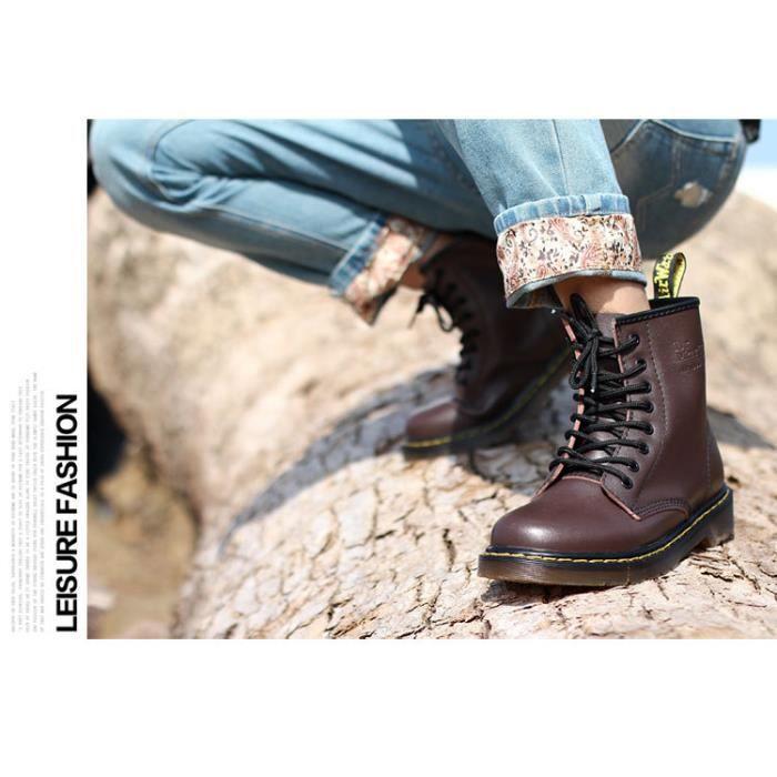 Bottes 2017 style homme, Chaussures homme en cuir de haute qualité