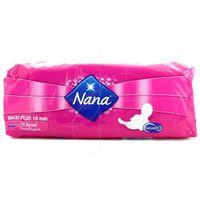 SERVIETTE HYGIÉNIQUE Nana - Serviettes périodiques Maxi plus 10mm X10pc