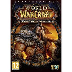 JEU PC World Of Warcraft : Warlords Of Draenor Jeu PC