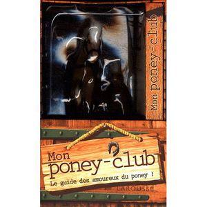 Livre 6-9 ANS Mon poney-club