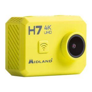 CAMÉRA SPORT MIDLAND H7 Action Cam 4K avec Télécommande et Cais