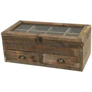 casier tiroir bois achat vente casier tiroir bois pas cher cdiscount. Black Bedroom Furniture Sets. Home Design Ideas