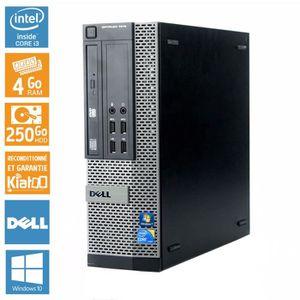 UNITÉ CENTRALE  Pc bureau DELL OPTIPLEX 790 intel core i3 4 go r