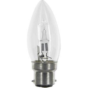 AMPOULE - LED Ampoule éco halogène flamme B22 Dhome - 30 W