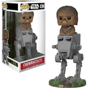 FIGURINE - PERSONNAGE Figurine Funko POP! Deluxe : Star Wars : AT-ST w /