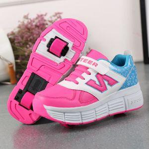 BASKET Mode enfants Chaussures décontractées doublé roule