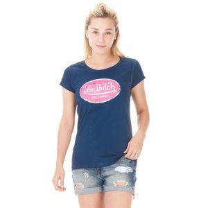 132592373034b CASQUETTE T-shirt Von Dutch femme Aarona Navy Used