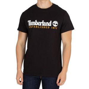 T-SHIRT Timberland Homme T-shirt d'éléments, Noir