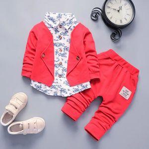 Ensemble de vêtements Kid Baby Boy Gentry Vêtements Set Party Smoking Bo
