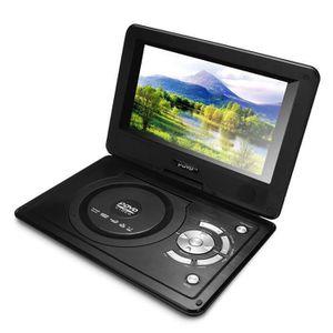 LECTEUR DVD PORTABLE Kit 8.8'' DVD Lecteur Portable 270° Pivotant USB S
