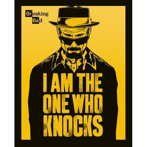 AFFICHE - POSTER Mini Affiche Breaking Bad I am the one who knocks