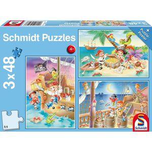 PUZZLE SCHMIDT AND SPIELE Puzzle enfant - Piratenbande -