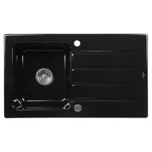 EVIER DE CUISINE VILLEROY & BOCH Evier Architectura 50 cm noir