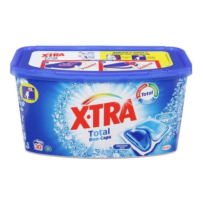 XTRA Lessive Total Duo Capsules - x30