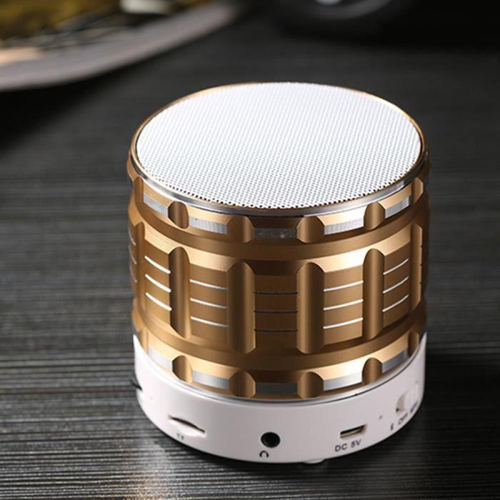 Portable Mini Tf Sans Fil Bluetooth Stéréo Haut-parleur Pour Iphone Tablet Pc Fm @los151