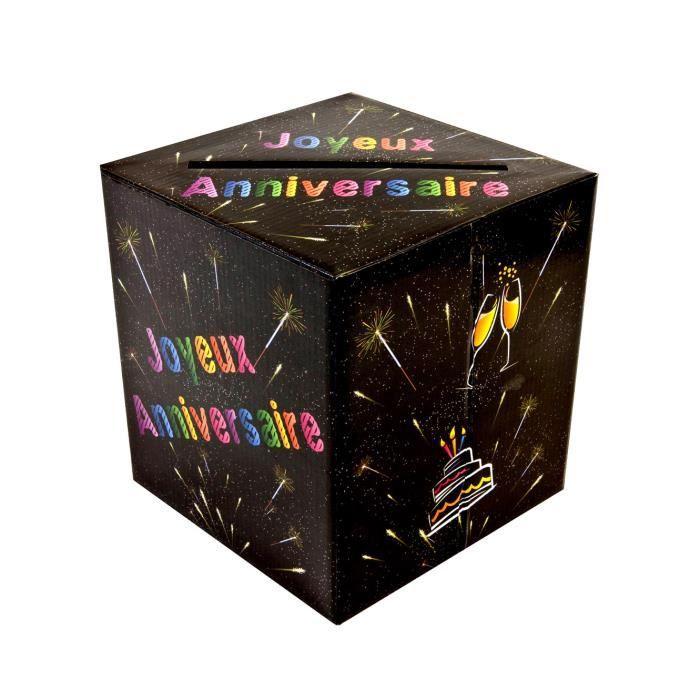 Urne pour anniversaire achat vente urne pour anniversaire pas cher cdiscount - Decoration anniversaire adulte pas cher ...