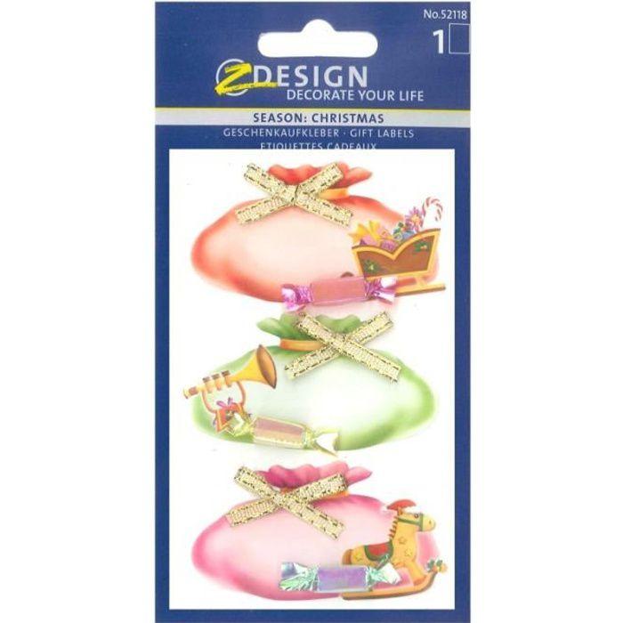 Sticker etiquette cadeaux noel achat vente sticker - Vente de cadeaux de noel ...