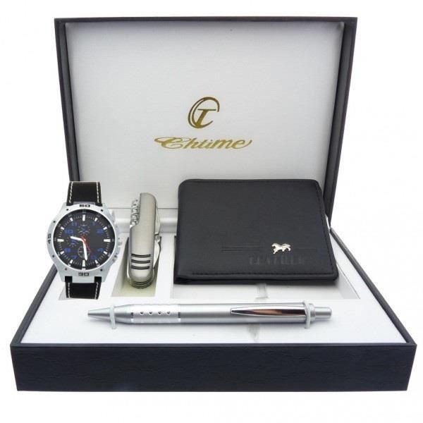 coffret cadeau montre Homme avec couteau multifonction , portefeuilles et  stylo 8adecb902a9