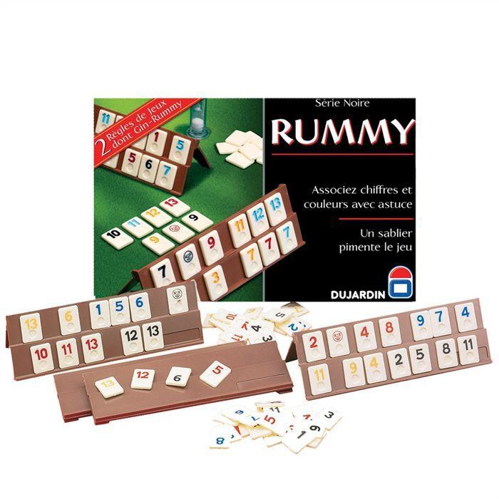 rummy s rie noire jeu de soci t achat vente jeu soci t plateau cdiscount. Black Bedroom Furniture Sets. Home Design Ideas