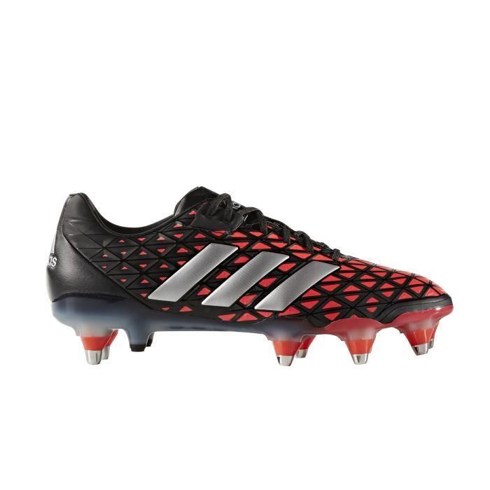 best cheap 741ff 53477 Chaussure rugby adidas adipower Kakari SG Noir