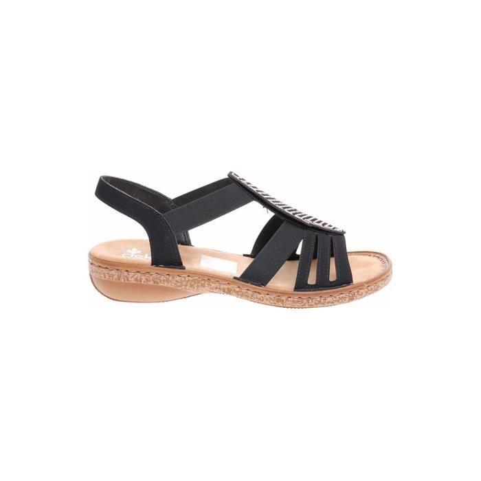 f5dc10f846fd3e Chaussures Rieker 628G600 Noir Noir - Achat / Vente derby - Soldes d ...