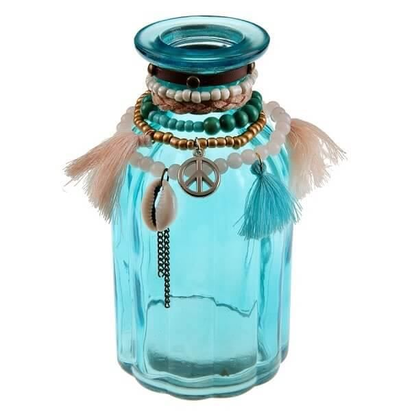 VASE - SOLIFLORE Vase Mexique: Bleu (x1) REF/5771