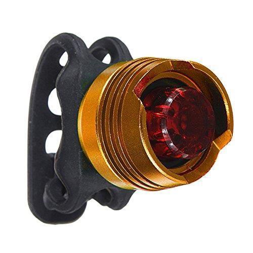 Tail Led Pour Rouge Arriere Velo 2pilesor Feux Lampe Clignotant Etanche Ampoule EWIYDH29