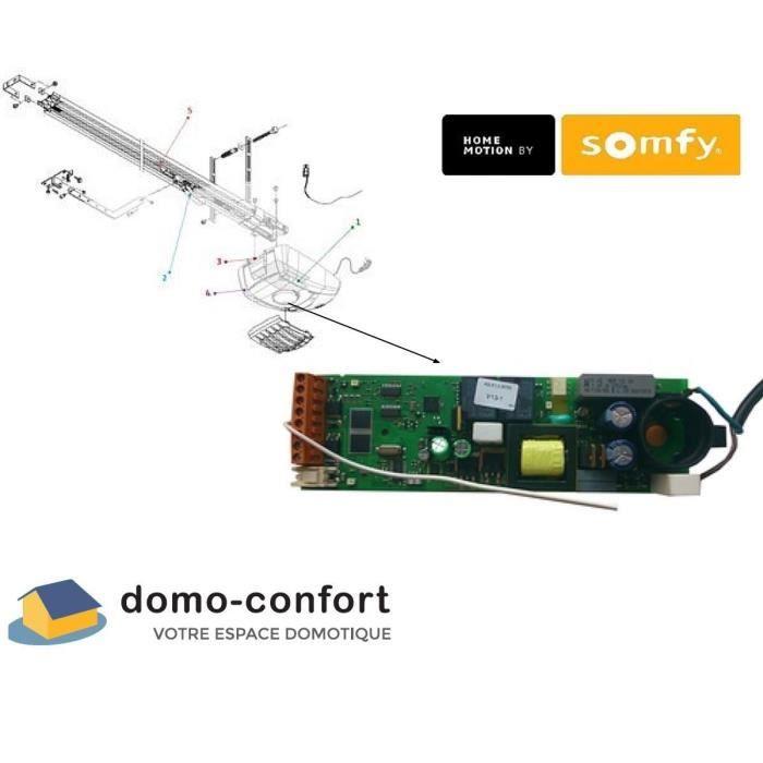 somfy 9013312 boitier electronique rts pour moteur achat. Black Bedroom Furniture Sets. Home Design Ideas